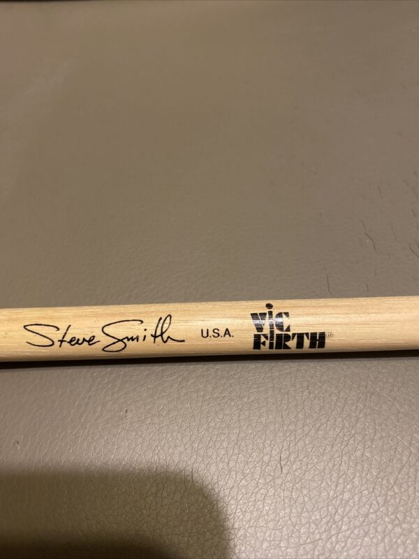 Steve Smith Drumstick Carl Palmer Drumstick Journey Asia Rare Vic Firth