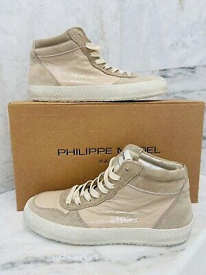 Philippe Model Paris High Top Sneaker Lakers Vintage Essentielle Nib Siz 37