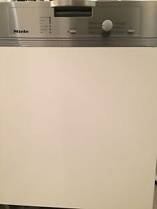 Miele under each semi integrated dishwasher with cover panel Burwood Heights Burwood Area Preview