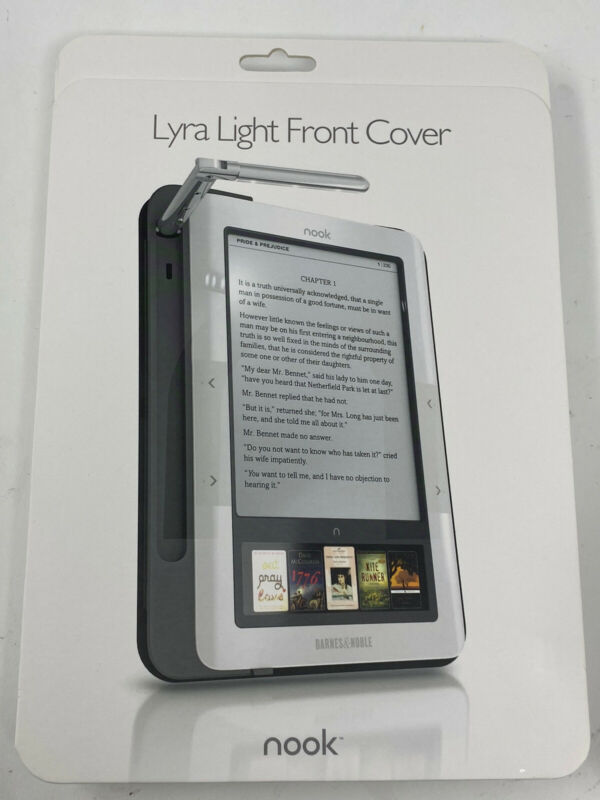 Nook Lyra Light Front Cover Reading Light Sealed New In Box Barnes & Noble