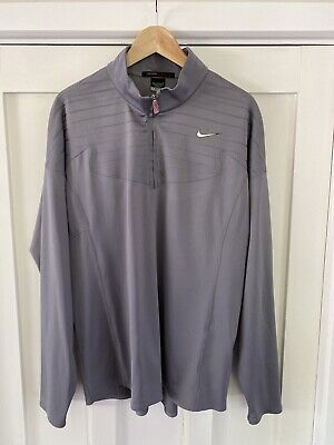 Nike Golf Tiger Woods Collection 1/2 Zip Pullover Mens Large