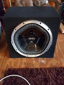 Sony xplod 1000w subwoofer Lane Cove West Lane Cove Area Preview