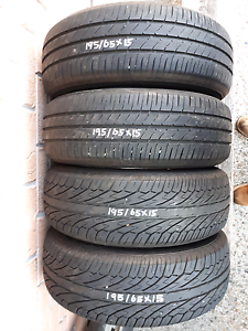 195/65X15, TOYO, DUNLOP TYRES Brookwater Ipswich City Preview