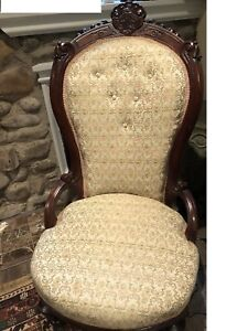 Antique Tufted Victorian Parlour Side Chair
