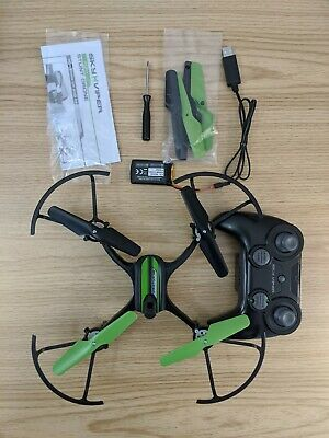 Sky Viper Turbulence Stunt Drone, Black/Green Used and Tested Stunt Drone Kids/Adults
