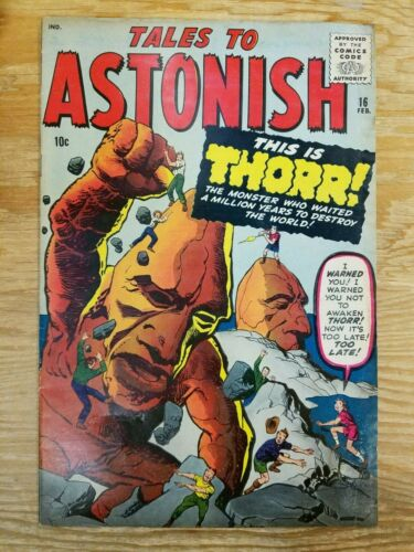 Tales to Astonish #16