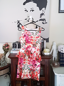 Pink Floral Misguided Dress Eden Hill Bassendean Area Preview