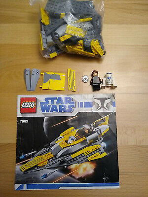 Lego 7669 Anakin's Jedi Starfighter Complete with Instructions