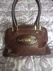 Gucci leather satchel