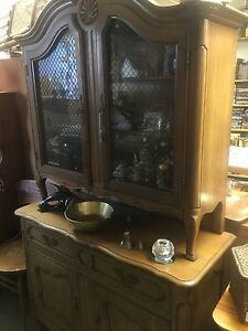 Boss says to pick a item give 35% off all China Cabinets/Buffets