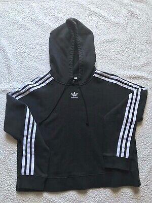 Adidas Women's Black Size Medium S Pullover Hoodie Sweater