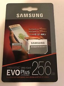 Samsung evo plus 256 gb sd card Bentley Canning Area Preview