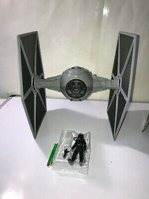 "Star Wars TIE FIGHTER & PILOT 3.75"" Force Link 2.0 Solo Story NEW LOOSE NO BOX"