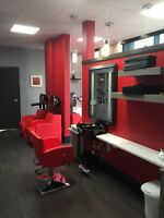 Chair rental available in NEW, MODERN Salon
