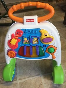 Baby Toddler Walker Fisher Price with music, lights