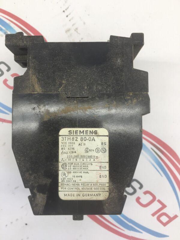 siemens 3th82 0a contactor control relay 600v ac max 10 amps ebay rh ebay com