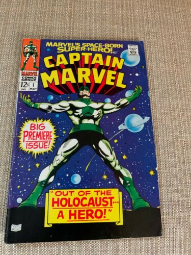 """Captain Marvel- """"Out of the Holocost a Hero"""" May 1, 1968"""