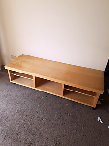 Tv stand wooden Eastwood Ryde Area Preview