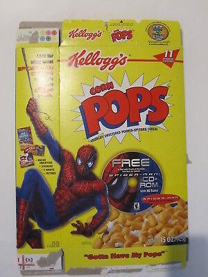 spider-man CORN POPS CEREAL - Corn Spider