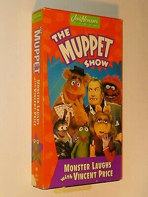 THE MUPPET SHOW MONSTER LAUGHS WITH VINCENT PRICE VHS Family Friendly Halloween