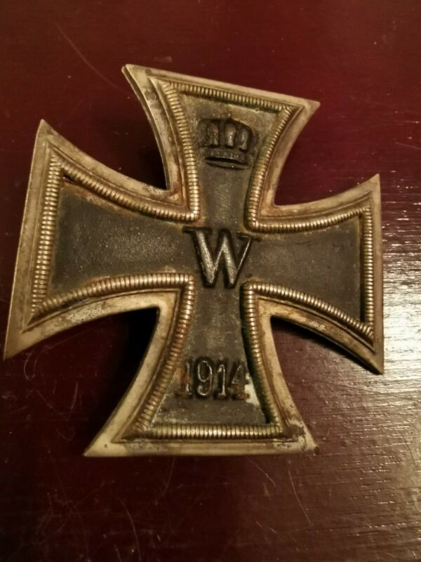 Prussian Iron Cross 1st Class Magnetic Core -  Unmarked