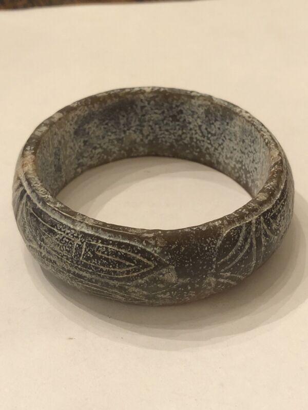 "Ancient China Jade ""Three Cicada"" Bracelet"