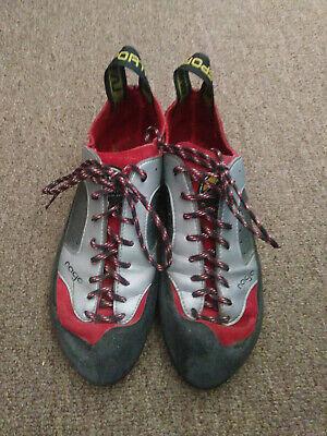 La Sportiva Nago Sliver/Red Rock Climbing Shoes (Size US Men's 8.5)