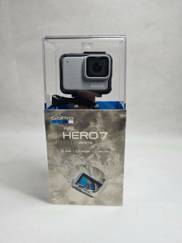 Brand New Sealed! GOPRO HERO 7 WHITE WATERPROOF ACTION CAMERA 10MP 1080P TOUCH