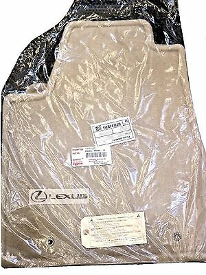 LEXUS OEM FACTORY FLOOR MAT SET 2004-2006 RX330 AND 2007-2009 RX350 IVORY (TAN)
