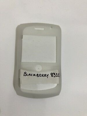 BlackBerry Curve 8300 8310 8320 8330 Silicone Case Skin Cover Fascia Clear Frost