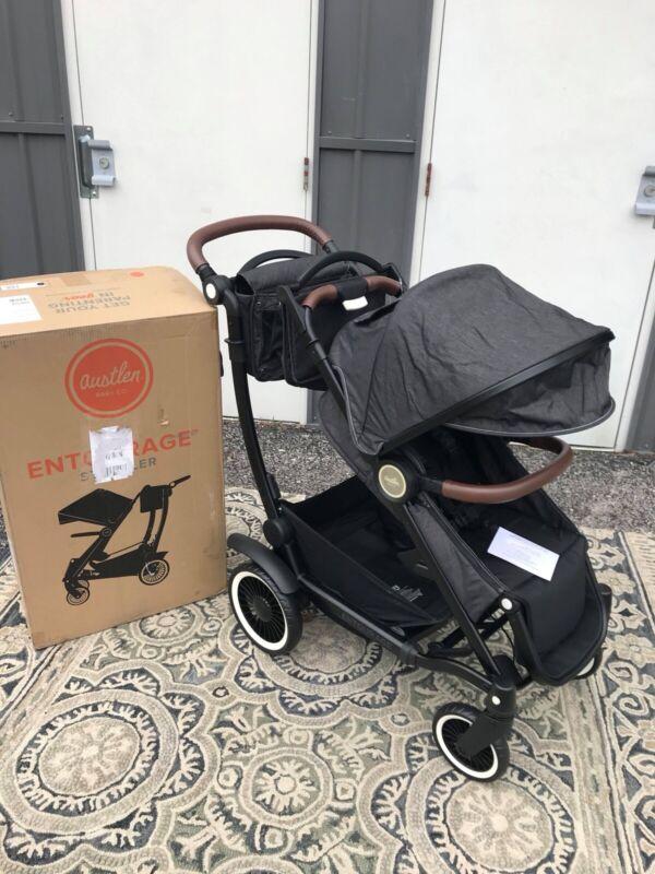 Austlen Entourage Expandable Stroller - Black -  Brand New!