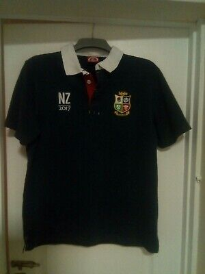 Official 2017 New Zealand Lions Rugby Shirt Size Large