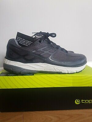 New Topo Athletic Ultrafly 2 Grey Black Wide Pro Best Road Running Shoe (Best Cushioned Running Shoes For Men)
