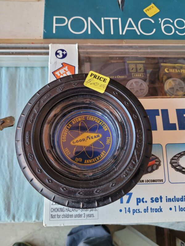 good year tire advertising tire ash tray