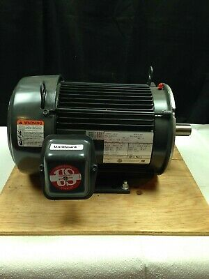 Emerson 3hp Electric Motor U3e1dc-c 208-230460v 182tc Encl. Te New