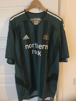 Adidas Newcastle United 2005/06 away shirt top Size: XL mens - NEW
