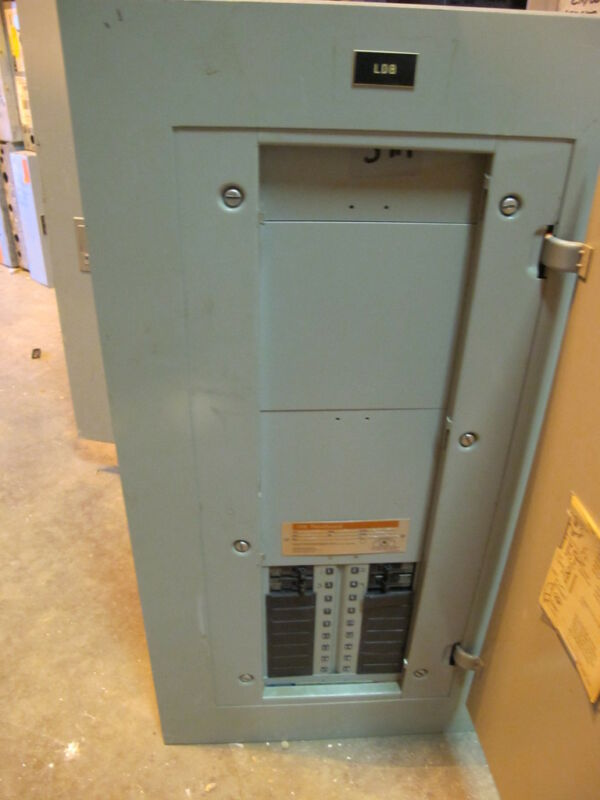 ITE 100 Amp,MLO,120/208 volt,CDP7 Panelboard with Lighting Contactor # E280
