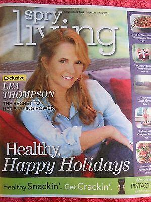 SPRY LIVING NOVEMBER 2015 LEA THOMPSON BEST WORST FOODS FOR