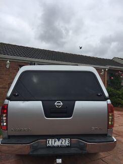Nissan Navara d40 ARB canopy