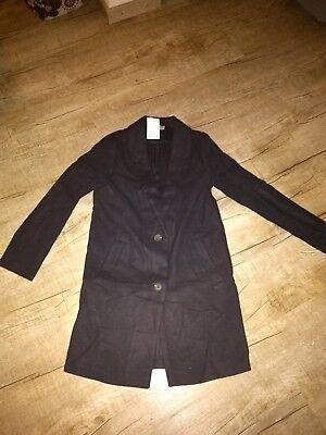 H&M Damen Fleece Mantel Parka Long Jacke  Gr. S NEU gebraucht kaufen  Dillingen