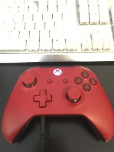 Red Xbox One S Controller!!