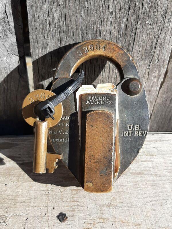 internal revenue service Antique Lock
