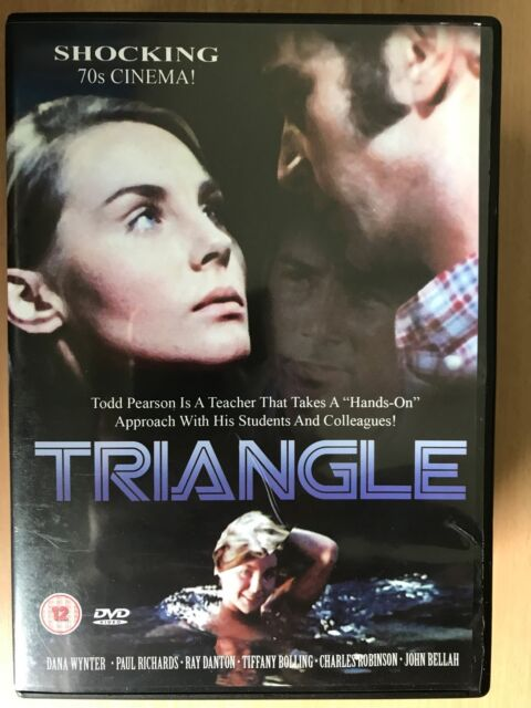 Dana Wynter Paul Richards TRIANGLE ~ 1970 Teacher Student Relationship Drama DVD