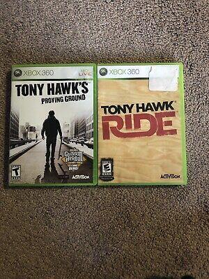 Tony Hawk's Proving Ground & Tony Hawk RIDE (Microsoft Xbox 360)