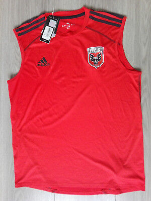 DC United Washington Trikot Training Jersey Authentic NEU Large L 8 Adidas MLS
