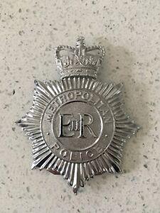 Metropolitan Police Helmet Badge