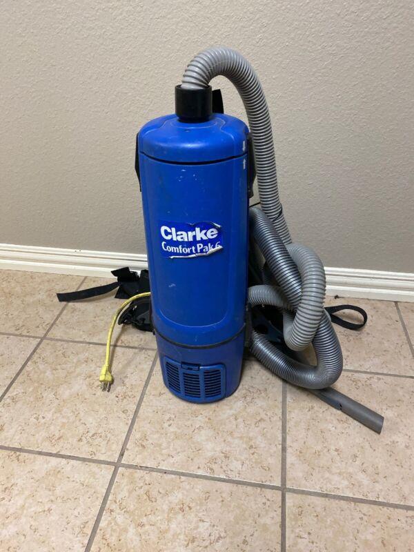 Clarke Comfort Pak 6 Qt. Backpack Vacuum