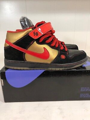 Nike SB Dunk Mid Money Cat 11.5 denim paris supreme freddy medicom diamond
