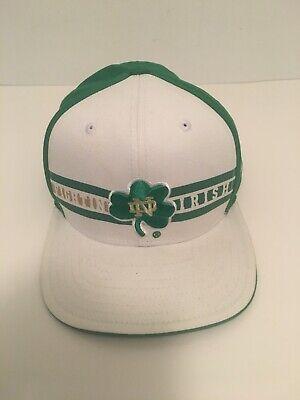 adidas Notre Dame Fightin Irish Snapback Hat Cap Emerald Isle Shamrock Green   Notre Dame Shamrock Green
