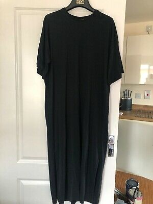 Puma tee shirt midi dress with side vent and Puma detail size 14 worn once.